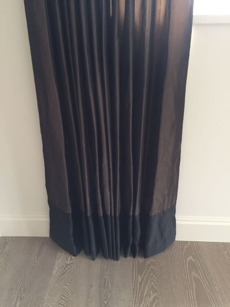 Curtains with a Border by Ellinis Interiors