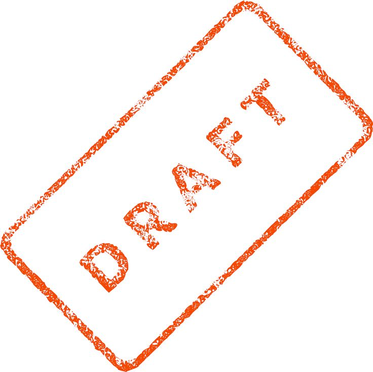 Draft Business Document File transparent image