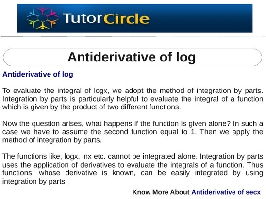 how to find the general antiderivative of a function
