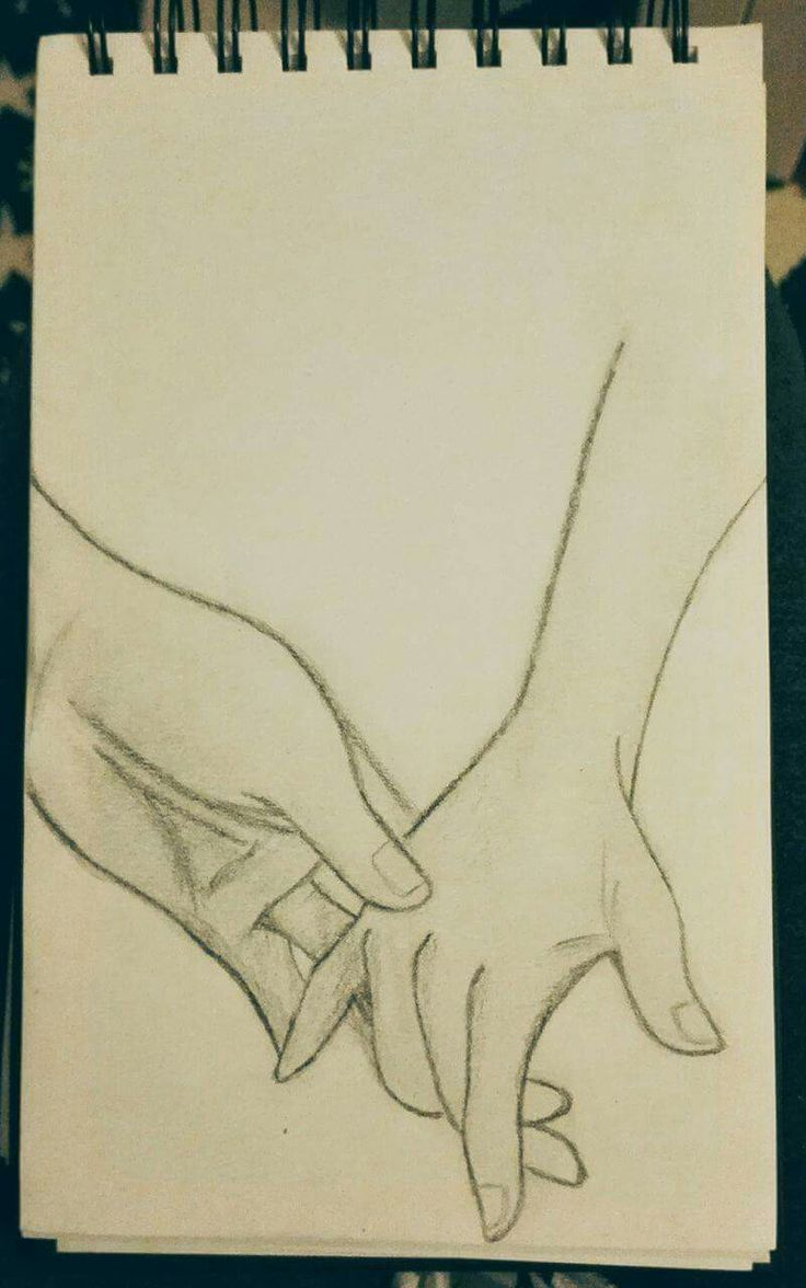 Hold my hand, art