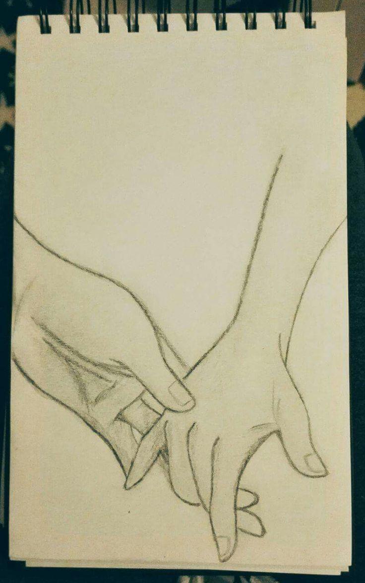 Hold my hand, art