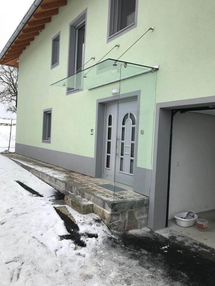Vordach und Windfang mit Glas   Vordach und Windfang für ...