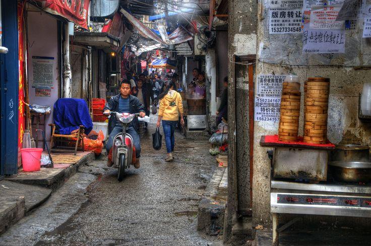 HanZheng Street,Wuhan, China | HDR creme