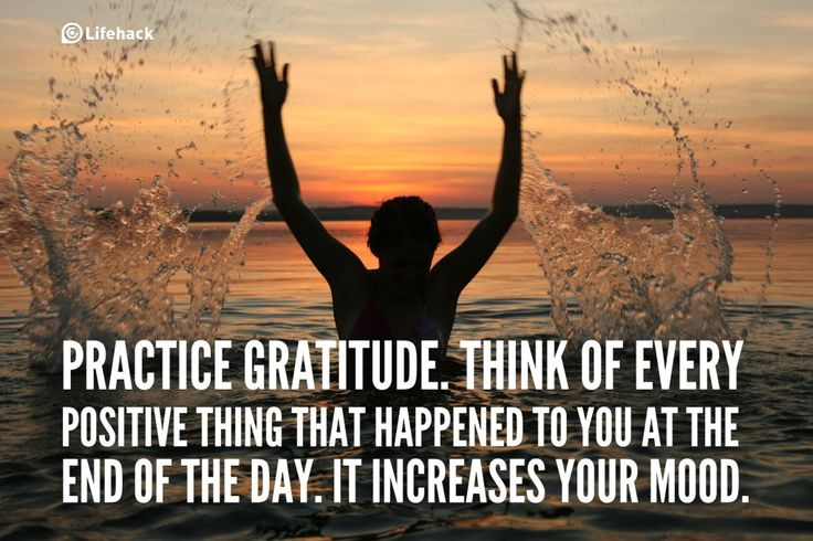 30sec Tip: How to Improve Your Mood Easily?    Practice Gratitude. Think of Every Positive Thing That Happened to You at the End of the Day. It Increases Your Mood.