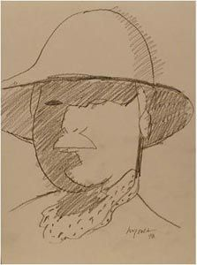 Henry Wanton JONES, autoportrait