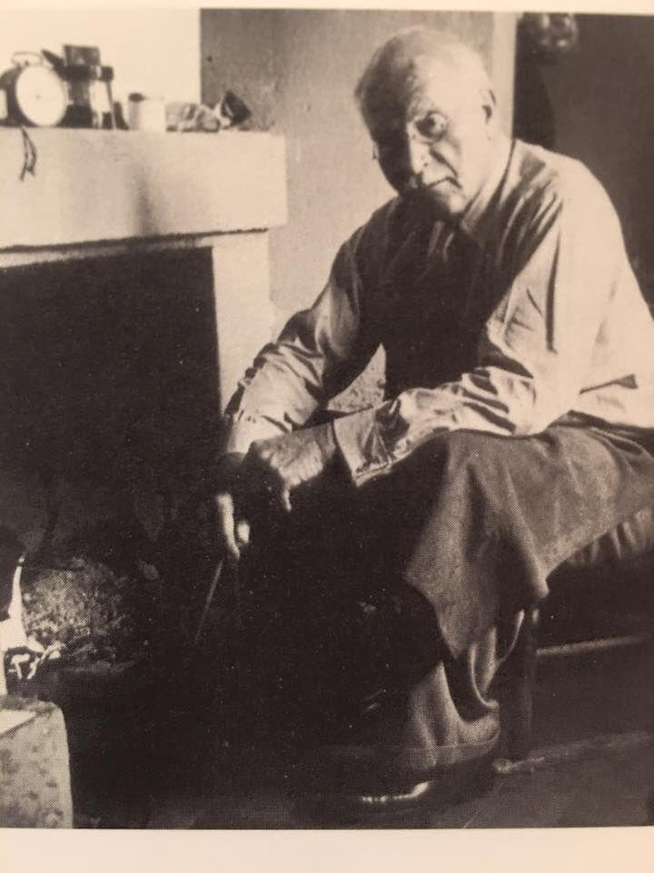 Carl Jung at Bollingen