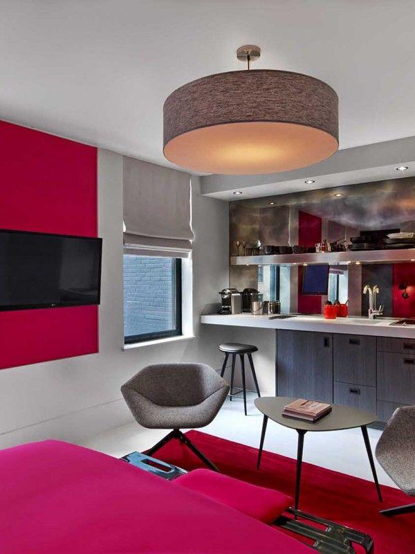 #excll #дизайнинтерьера #решения Дизайн интерьера the william hotel