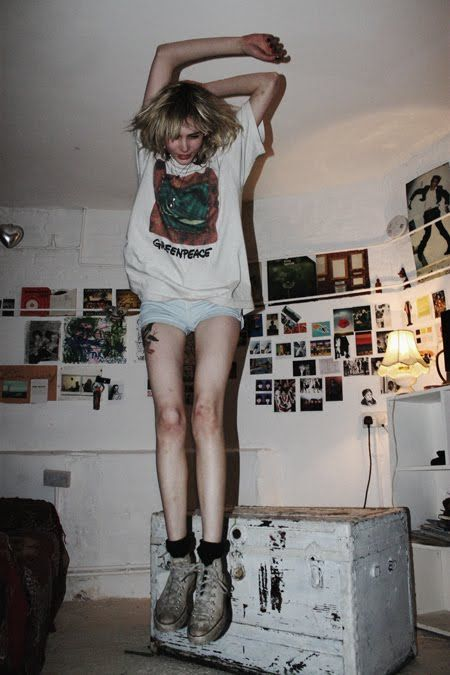 Модели Calvin Klein, Одежда в стиле