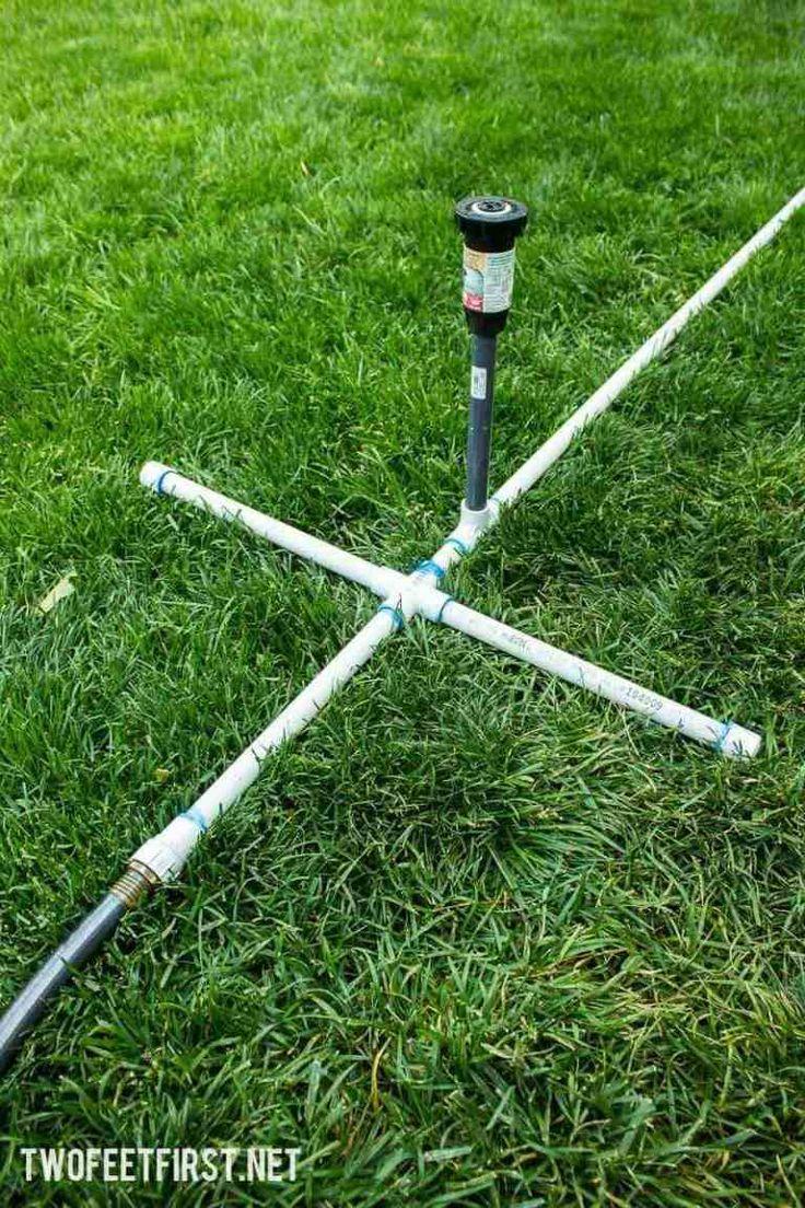 Build a simple sprinkler sprinkler diy sprinkler system