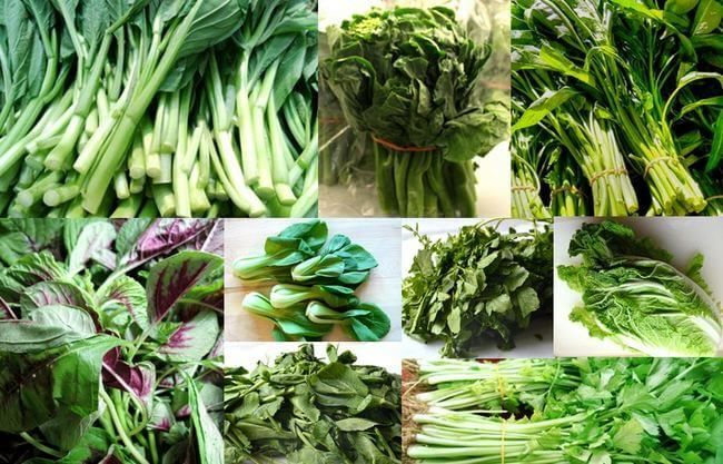 Learn more about Chinese vegetables varieties by perusing through our collection of common leafy green Chinese vegetables and how to use them in our recipes