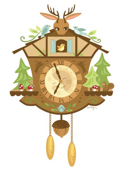cuckoo clock clip art free - photo #20