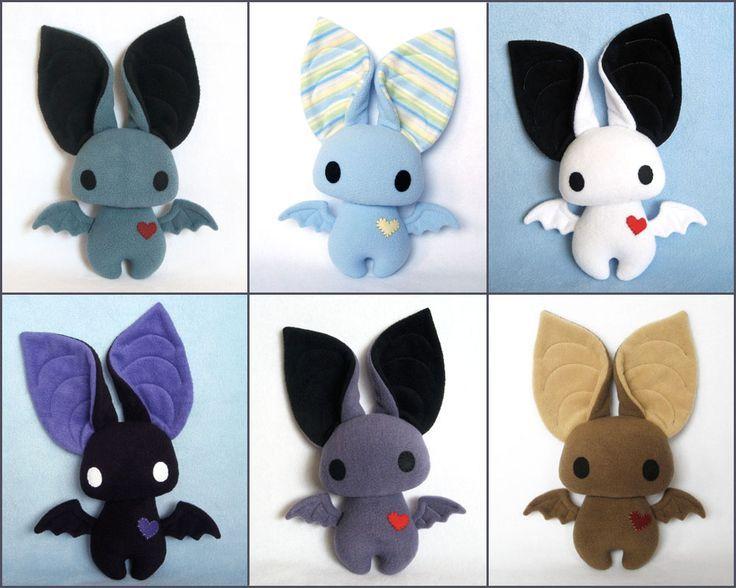bat stuffed animal cute - Google Search