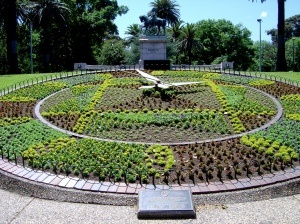Floral clock in Melbourne, Australia
