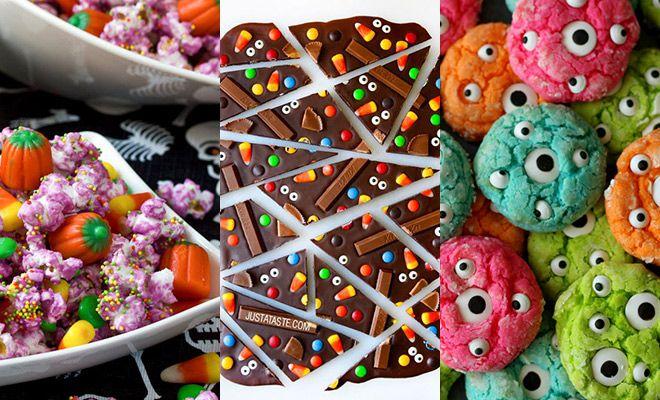 Halloween: het feest van pompoenen, spinnen, heksen en... snoep, heel veel snoep! En of je het nu viert of niet, Halloween snoep is altijd lekker. Kijk je mee?