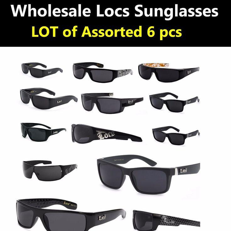 Locs Sunglasses Wholesale Bulk Lot Of 6 ASST Styles Pre Selected styles( 6 Pcs)