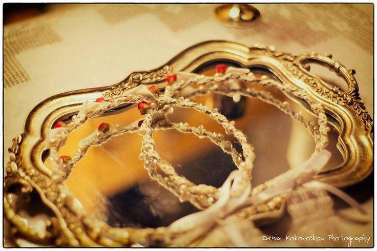 χειροποίητα στέφανα γάμου www.domeafavorevents.gr