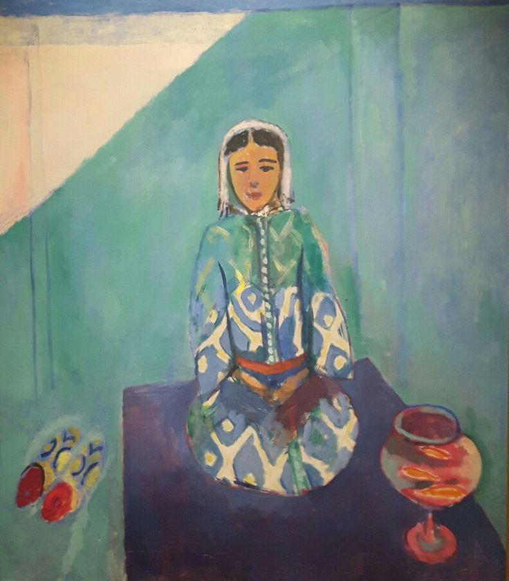 Zorah sulla terrazza 1912-1913 Museo Pushkin di Mosca