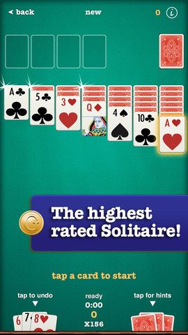 Solitaire by finger arts / App Store Card Game Apps