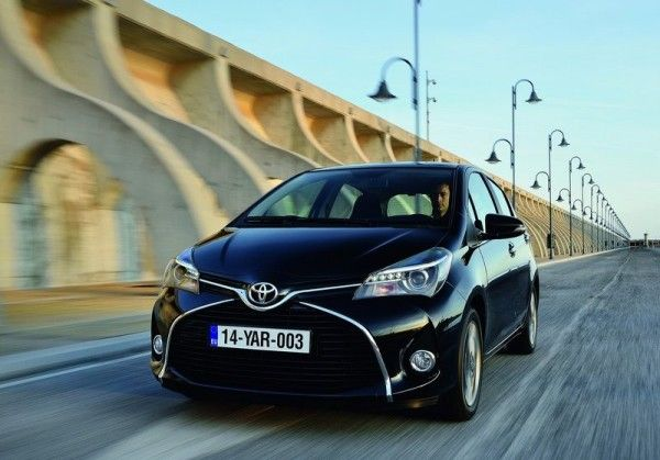 2015 Toyota Yaris Front Images 600x419 2015 Toyota Yaris Full Review with Images