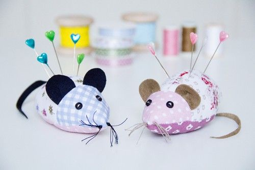 mouse pincussion free pattern by pattydoo