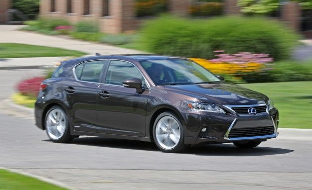 2016 Lexus CT200h Quick-Take Review: Let Down by Its Prius Powertrain