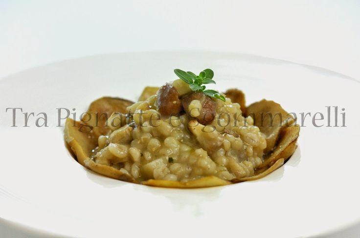 Le mie ricette - Zuppa di orzo perlato, patate, porcini e castagne | Tra pignatte e sgommarelli
