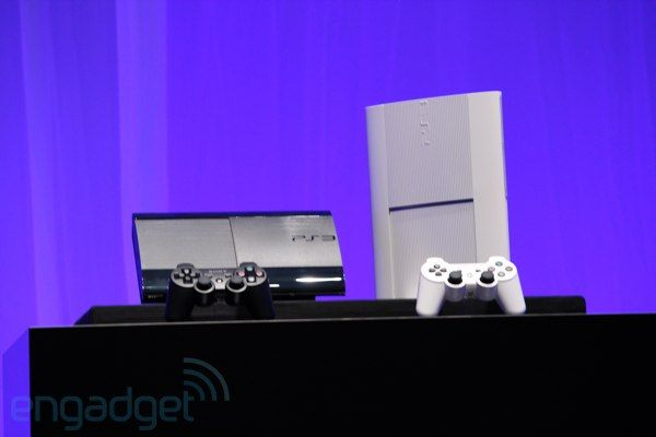 Sony announces a slimmer PlayStation 3, launching this winter in black and white -- Engadget