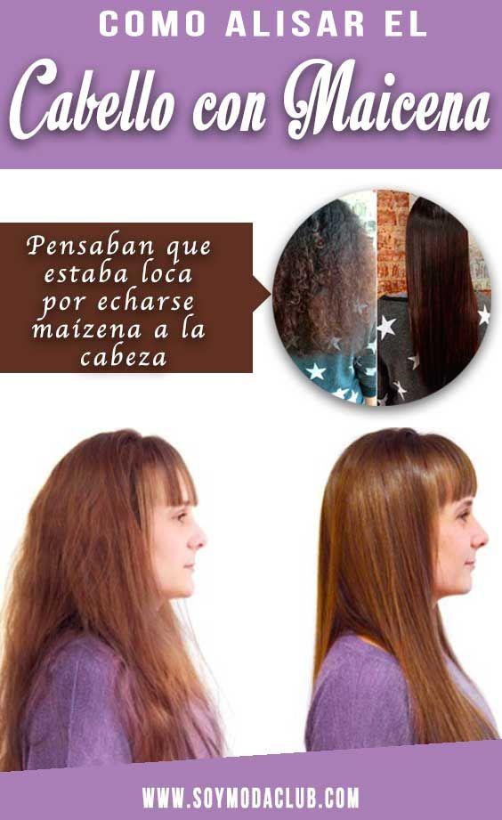 Como alisar el cabello de forma natural y permanente  d9404fd0bbb2