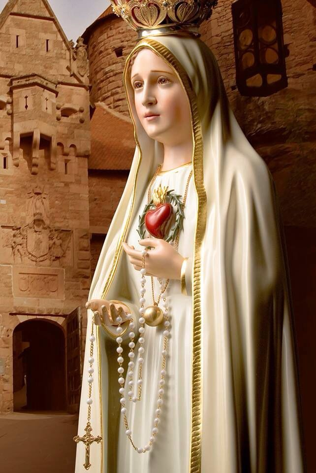 Fatima | mary | Blessed mother, Religious pictures e ...