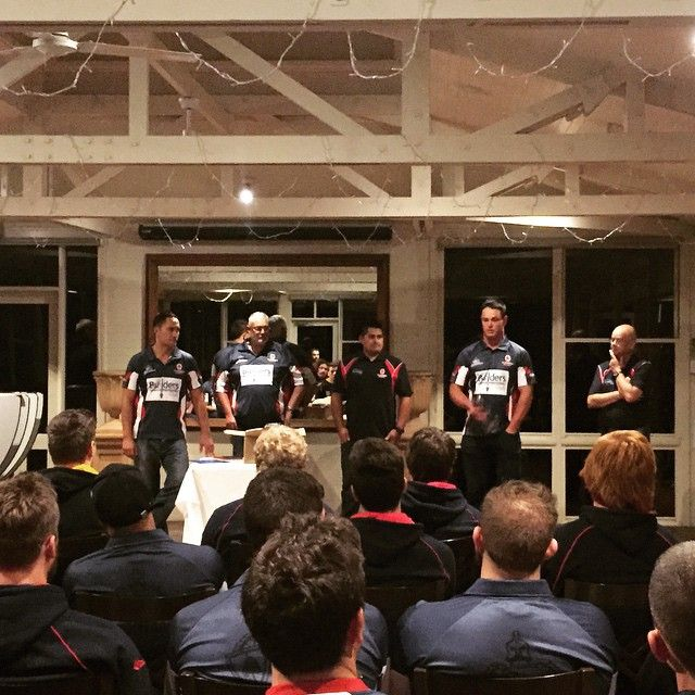 Unanderra Physiotherapy & Pilates: Illawarriors NSW State Country Champs - Pre-tournament team talk and motivational guest speaker.