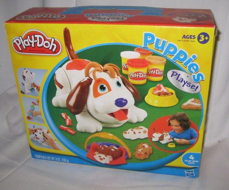 Hasbro PLAY-DOH PUPPIES Playset Rare & Hard To Find NEW & Sealed #Hasbro