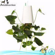 Upside Down Planters Hanging Plastic Planter White
