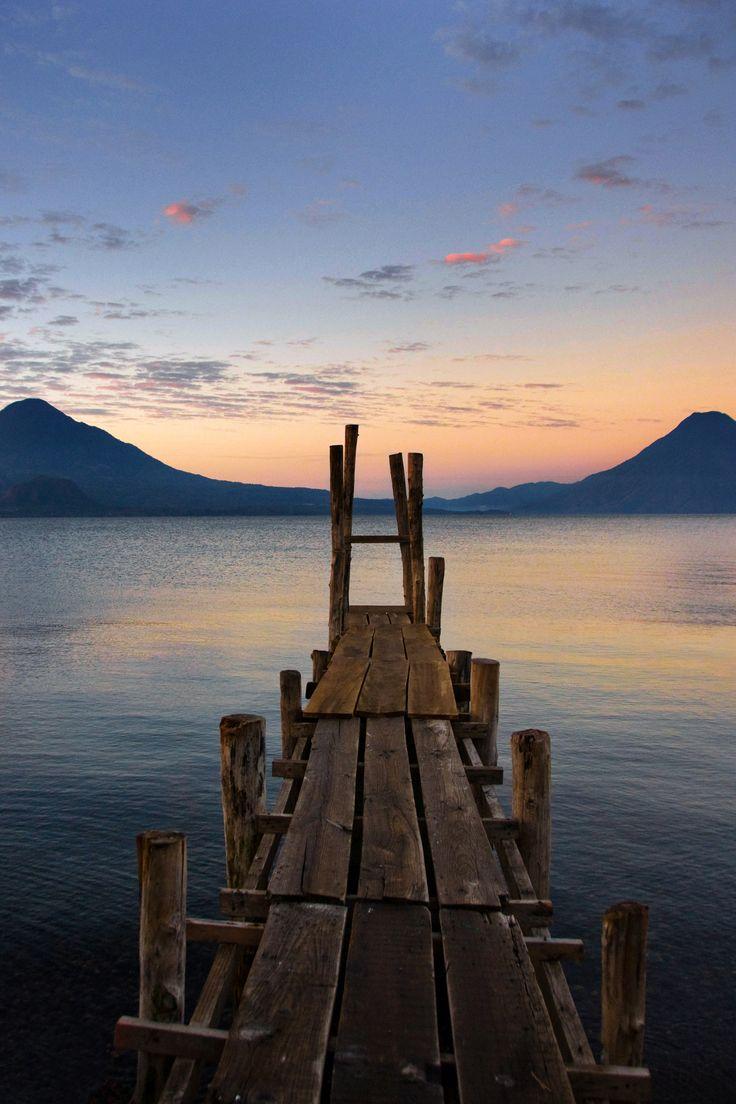 Looking out over Lake Atitlan, #Guatemala