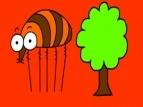 Song: Can a flea climb a tree?