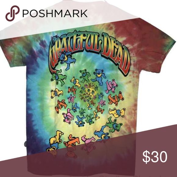 The Grateful Dead Band Bears T-Shirt The Grateful Dead Band Bears T-Shirt, size medium, color tie-dyed, condition brand new. the grateful dead Shirts Tees - Short Sleeve