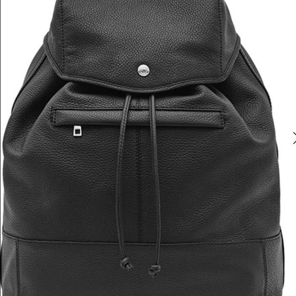 Reiss Leather Bookbag On Sale $235 Brand new in perfect condition 100% leather rucksack Reiss Bags Backpacks