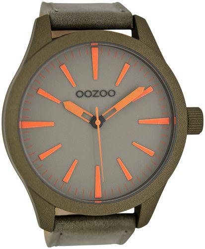 Oozoo XXL Herren Uhr Lederband 51mm Verschiedene Farben 6070   eBay