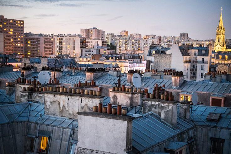 Paris guide to the 10 best rooftops - e.g. Le Perchoir - 11e arrondissment - 14 rue Crespin Dugast
