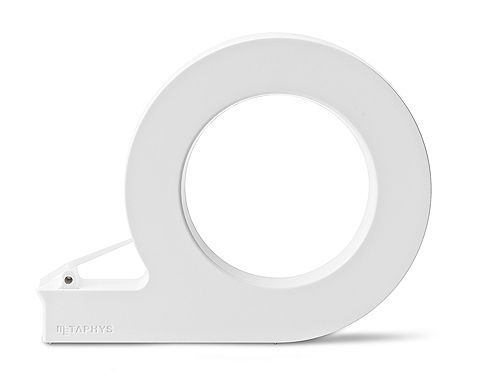 tape cutter: minimalistic design tool | stationery . Schreibwaren . papeterie | Photo @ Design Binge |