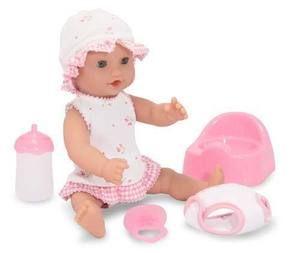 Melissa&Doug poupée bébé Annie 12 pouces, boit et fait pipi. 34.99$ Achetez-le info@laboiteasurprisesdenicolas.ca 450-240-0007