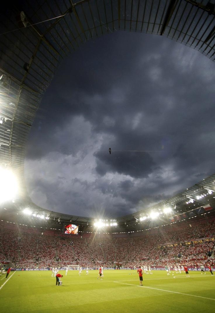 City stadium in Wroclaw // Euro 2012