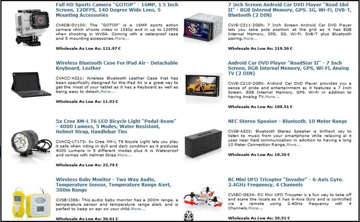 Check out the latest hi-tech products released at Chinavasion! Grab your stock fast – it's all on the warehouse shelves, first come first served.! http://aloesib.ro/hitechchina/?page_id=7