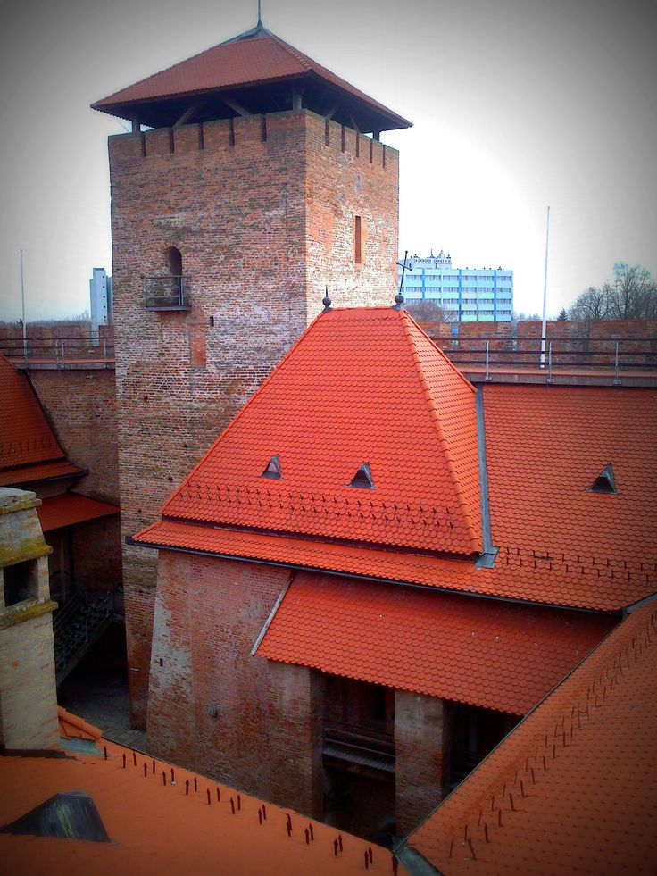 The castle of Gyula was built in the 15 century