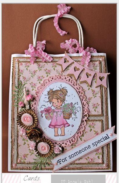 ♥ ♥ gepimpte Geschenktüte ♥ ♥