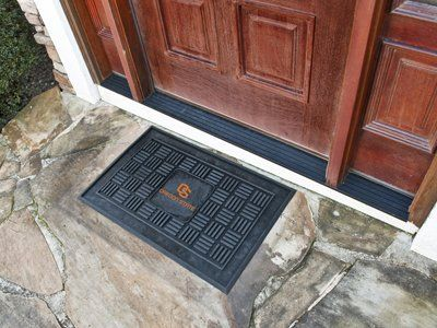 Oregon State Heavy Duty Vinyl Doormat by Fanmats. $20.62. 100% Vinyl. Officially licensed. Heavy Duty. Made in U.S.A.. Team Logo. Please Note: This item is made-upon-order, therefore requires additional processing time, which is reflected in the estimate above. Please Note: Due to the long lead time of this item, it is not eligible for Expedited shipping. Adorned with your favorite team's logo, these door mats make a statement while keeping dirt and mud from entering yo...