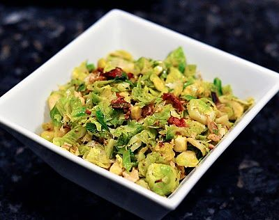 C+C Marriage Factory: Brussel Sprouts with Bacon and Walnuts