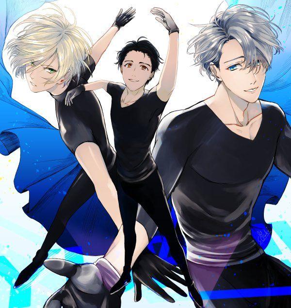 BEPO Yuri!!! on Ice    Victor Nikiforov Yuri Katsuki Yuri Plisetsky #Yuri_on_Ice