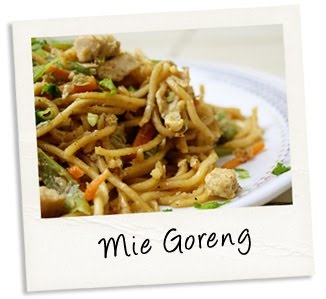 Mie Goreng; love Indonesian food!