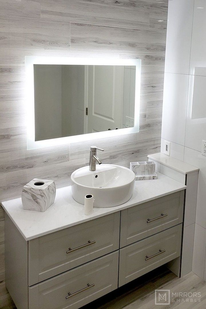 Bathroom Mirror Ideas To Reflect Your Style In 2020 Bathroom Vanity Mirror Bathroom Styling Master Bathroom Design
