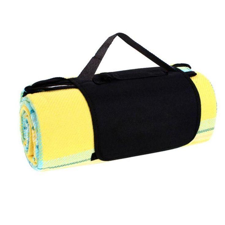 170*130cm Camping Mat Outdoor Picnic Mats Waterproof Aluminum Film Tent Sleeping Pad Foldable Beach Blanket Cushion